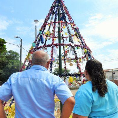 3. Arbolito navideño, Escuela San Vicente de Paul, trabajo listo (4)