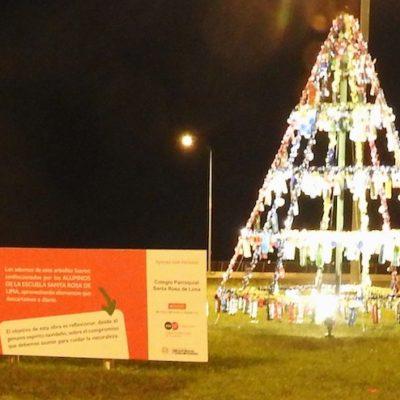 4. Proyecto Arbolito Navideño, Escuela Santa Rosa de Lima (1)