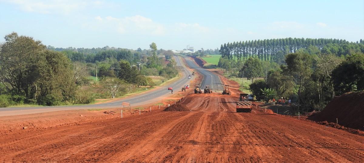 Caminos, ampliación de la Ruta ex 7, Paraguay (1)