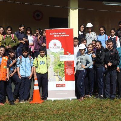 Roggio en la Comunidad, Colegio San Agustín, Juan E. O_Leary, Itapúa (1)