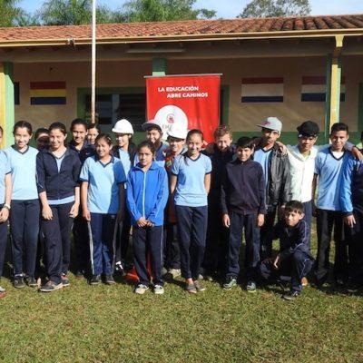 Roggio en la Comunidad, Colegio San Agustín, Juan E. O_Leary, Itapúa (15)