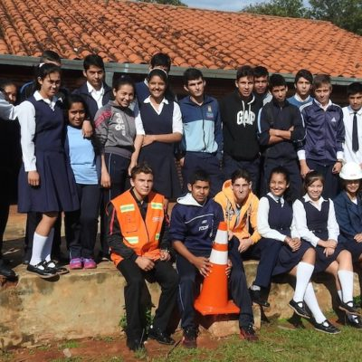 Roggio en la Comunidad, Colegio San Agustín, Juan E. O_Leary, Itapúa (26)
