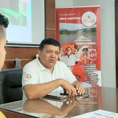 Roggio en la Comunidad, Colegio Santa Rosa de Lima (Asunción) (1)