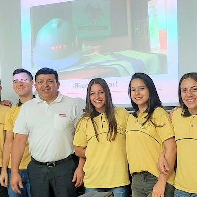 Roggio en la Comunidad, Colegio Santa Rosa de Lima (Asunción) (2)