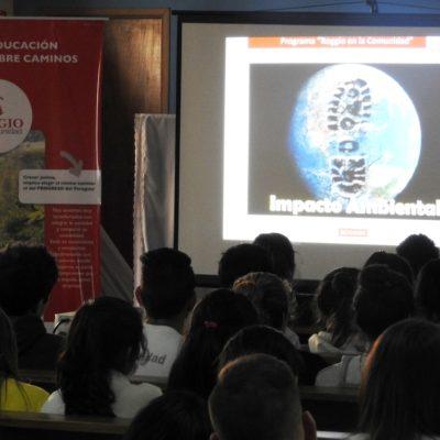 Roggio en la Comunidad, Colegio Santa Rosa de Lima (Asunción) (6)