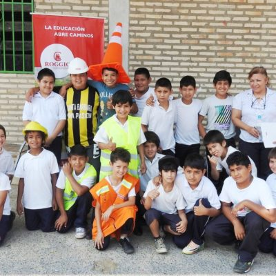 Roggio en la Comunidad, Escuela Fray Bartolomé de las Casas (Asunción) (1)