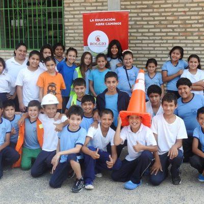 Roggio en la Comunidad, Escuela Fray Bartolomé de las Casas (Asunción) (15)
