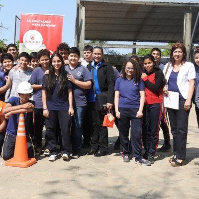 Roggio en la Comunidad, Escuela República de Venezuela (Asunción) (1)