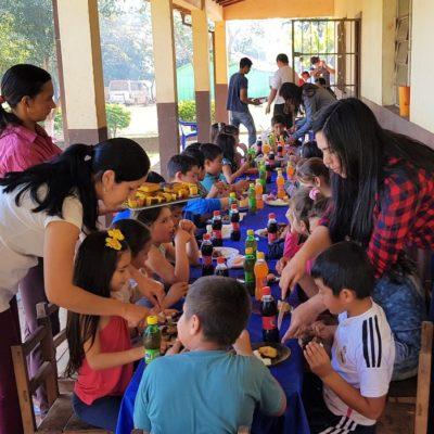 Roggio en la Comunidad, Escuela San Jorge, Juan E. O_Leary, Itapúa (2)