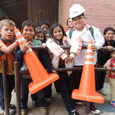 Roggio en la Comunidad, Escuela San Vicente de Paul, Asunción (3)