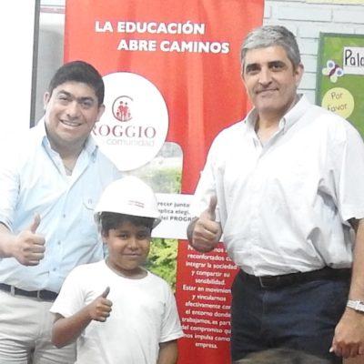 Roggio en la Comunidad, Escuela San Vicente de Paul, Asunción (5)