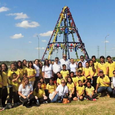 Proyecto Arbolito Navideño, Escuela Santa Rosa de Lima 2