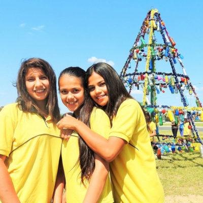 Proyecto Arbolito Navideño, Escuela Santa Rosa de Lima 5