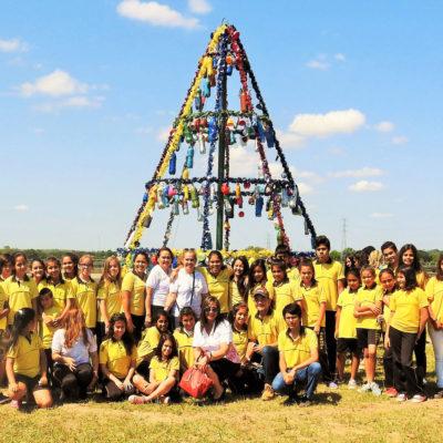 Proyecto Arbolito Navideño, Escuela Santa Rosa de Lima 7