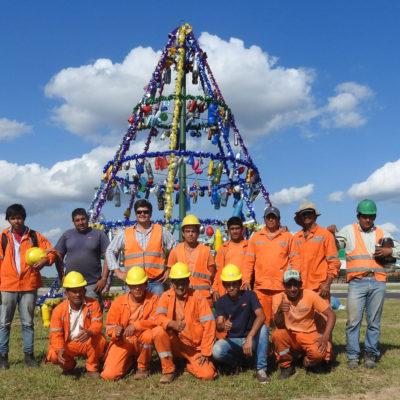 Proyecto Arbolito Navideño, Escuela Santa Rosa de Lima 8